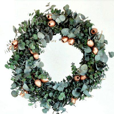 pennygum-wreath